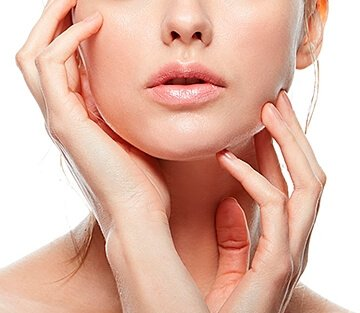 contour correction of face and neck with the help of activegel